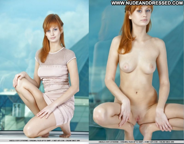 Several Amateurs Nude Amateur Redhead Dressed And Undressed Softcore