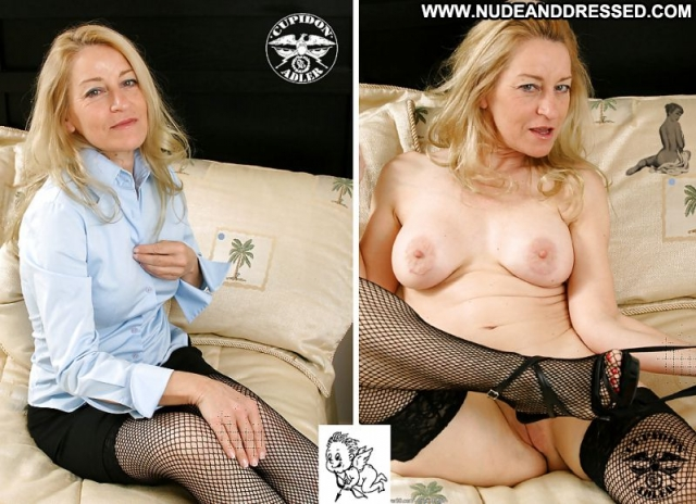 Several Amateurs Granny Dressed And Undressed Nude Softcore