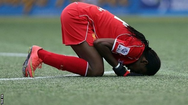 Oshoala: I'll Be Back In January To Score More Liverpool Goals