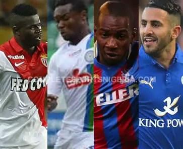 Echiejile, Oboabona, Bolasie, Mahrez In African Team Of The Week