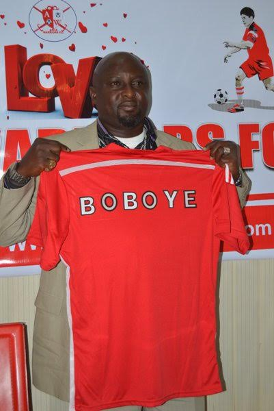 Abia Warriors Unveil Boboye As New Coach