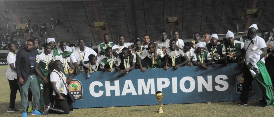 U-23 Eagles Beat Algeria To Become AFCON Champions