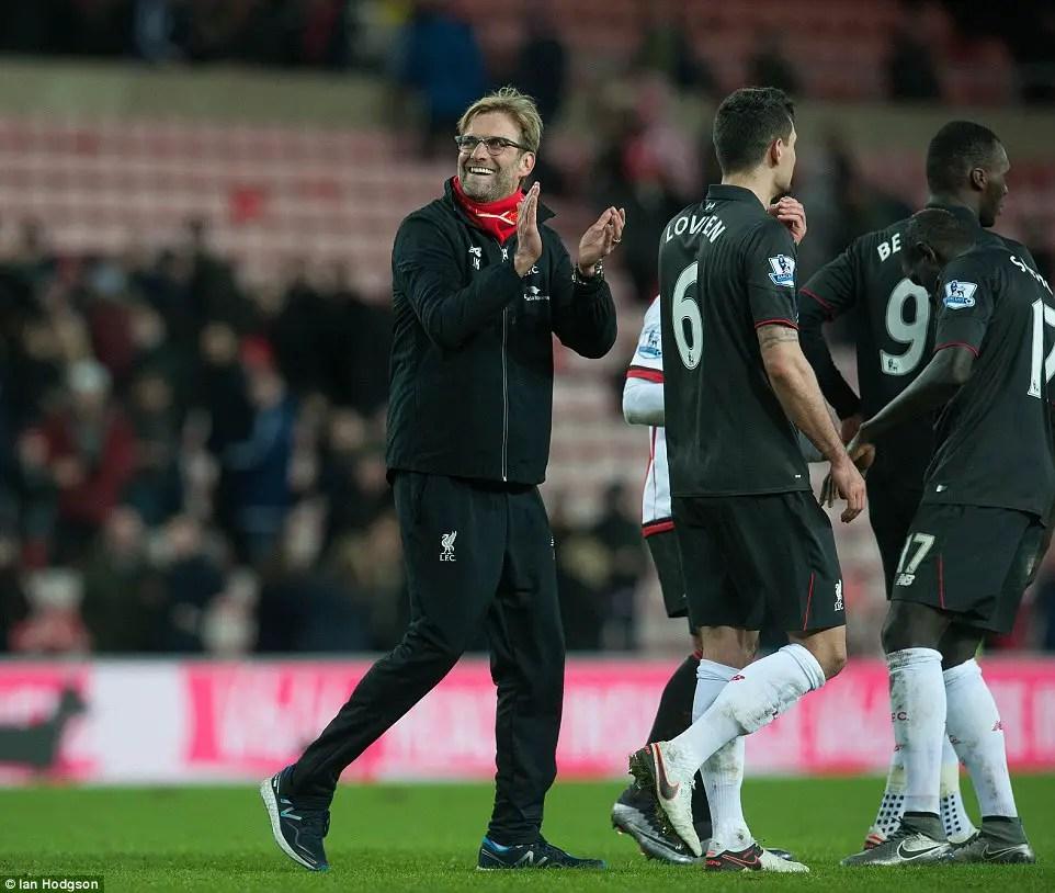 Hard-Earned Liverpool Win Thrills Klopp, Benteke Targets More Goals