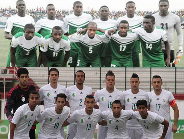 Minute By Minute – Nigeria Vs Algeria