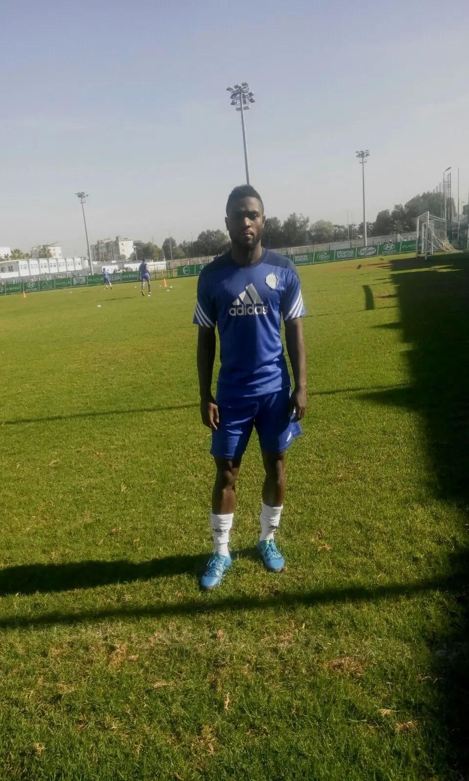 Babatunde Starts Training With Raja Casablanca