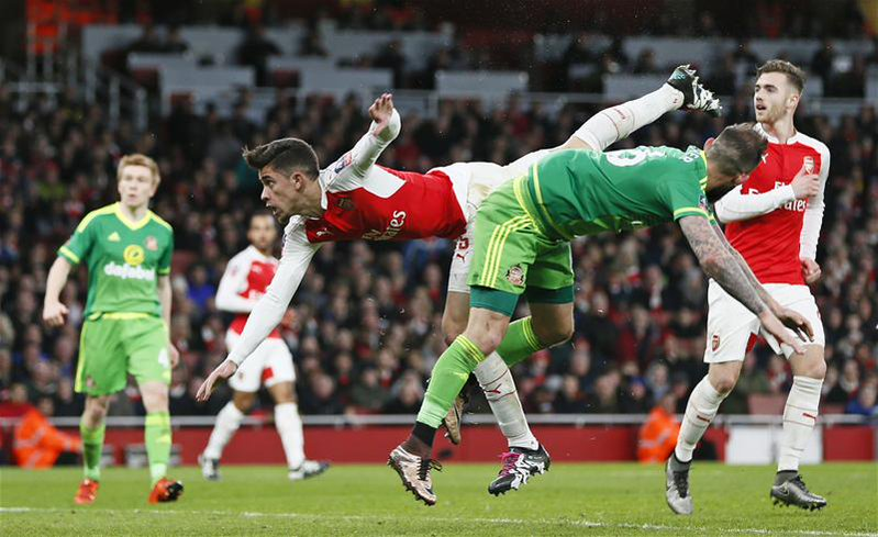 FA Cup: Iwobi Sparkles As Arsenal Ease Past Sunderland