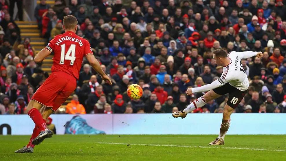 Rooney Strikes Late As Man United Stun Liverpool