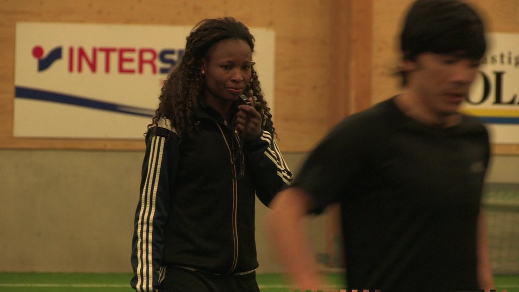 Perpetua Nkwocha Coaches Young Refugees In Sweden