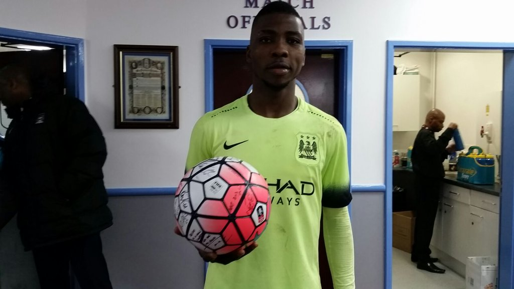 Iheanacho Makes City History With Hat-trick, Set For Champions League