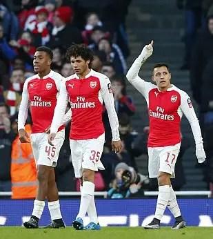 Iwobi Targets First Arsenal Goal