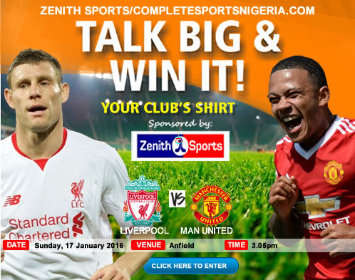 The Winners: Liverpool Vs Manchester United, Talk Big & Win It!