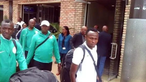 2016 CHAN: Nigeria's High Commissioner To Rwanda Visits Home Eagles