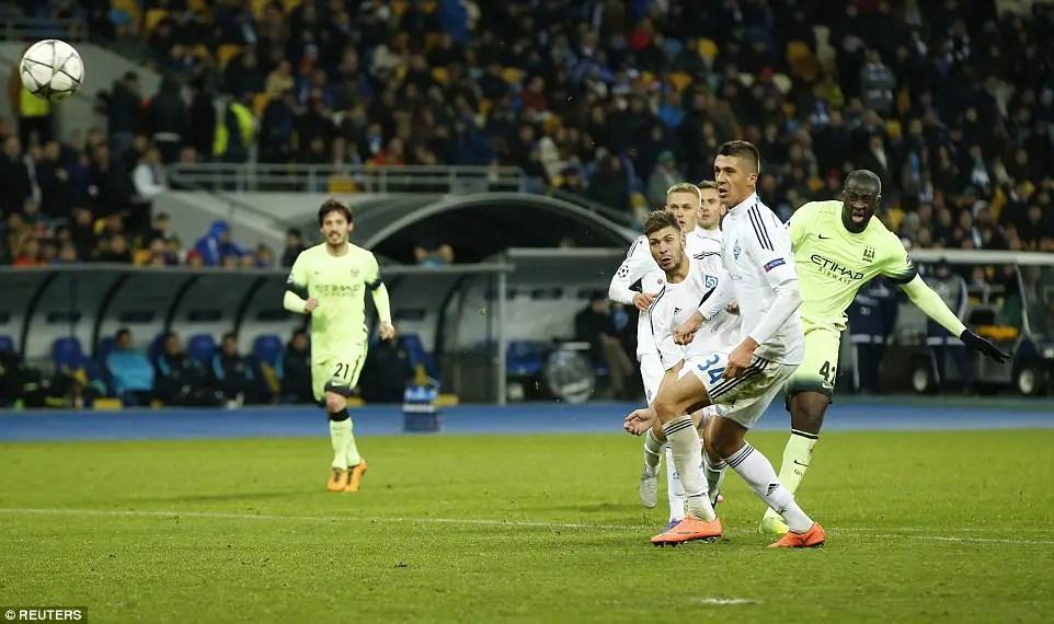 City Cruise At Dynamo Kyiv As Iheanacho Makes UCL Debut