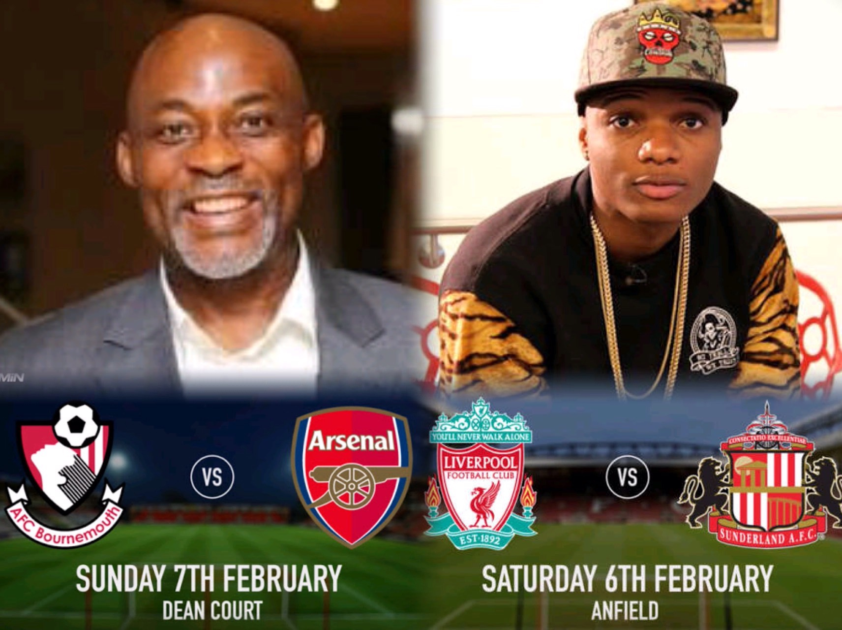 Celebs Mouthing! RMD Urges Gunners' Catch-up; Wizkid Craves Liverpool Top 4
