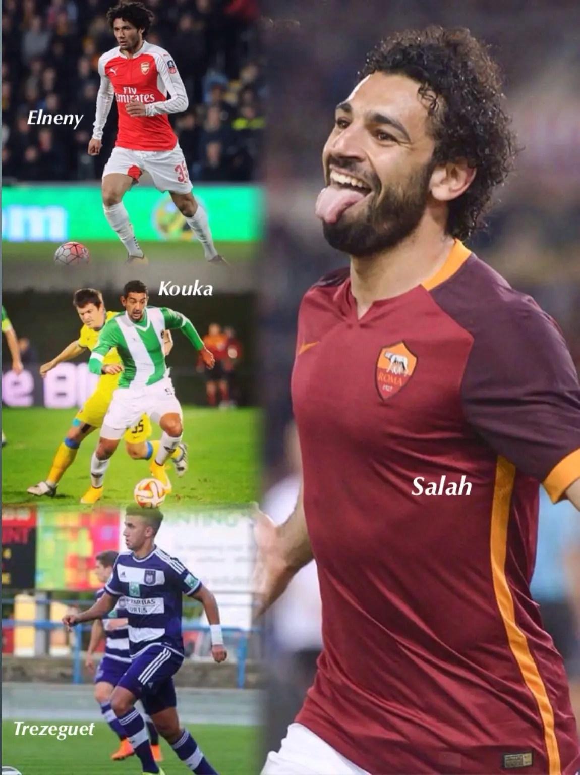Terrific Quartet! 4 Dreaded EgyptPlayers Super Eagles Must Stop