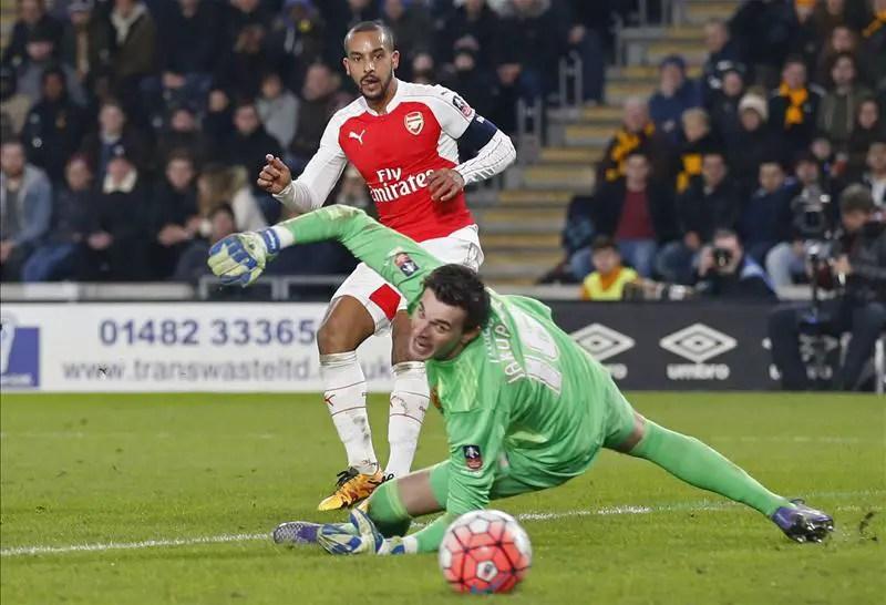 Iwobi Shines As Arsenal Spank Hull To Reach FA Cup Q/Finals