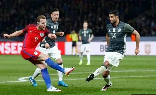 Kane, Vardy Score As England Stun Germany In Berlin