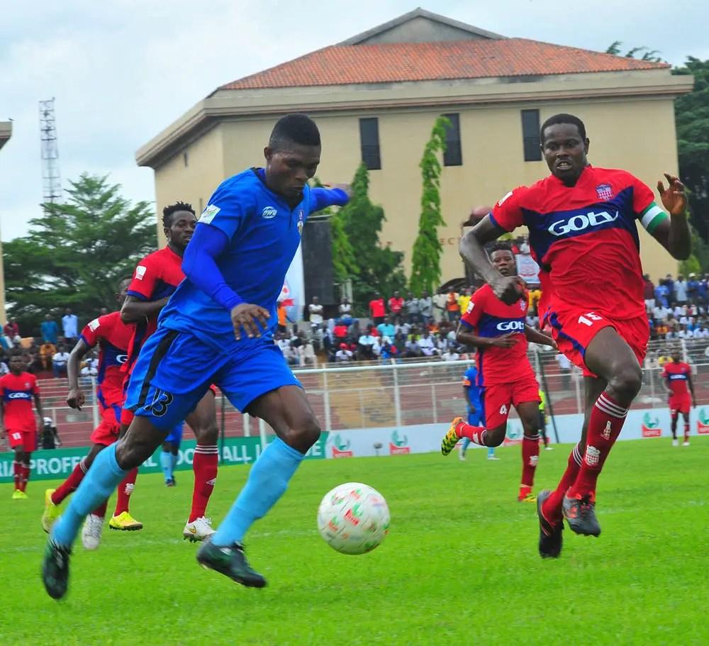 Pillars Pip Akwa Utd, El-Kanemi Upset Enyimba; Ikorodu Utd, MFM Draw