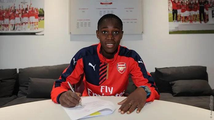 Arsenal Ladies Sign Oshoala From Liverpool Ladies