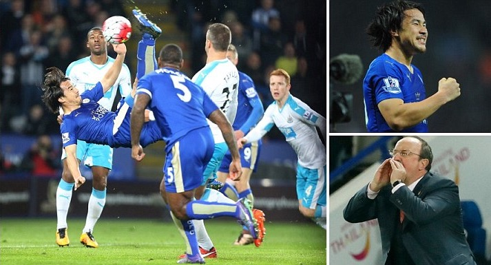 Leicester Pip Newcastle, Restore 5 Point Lead; Benitez In Losing Debut
