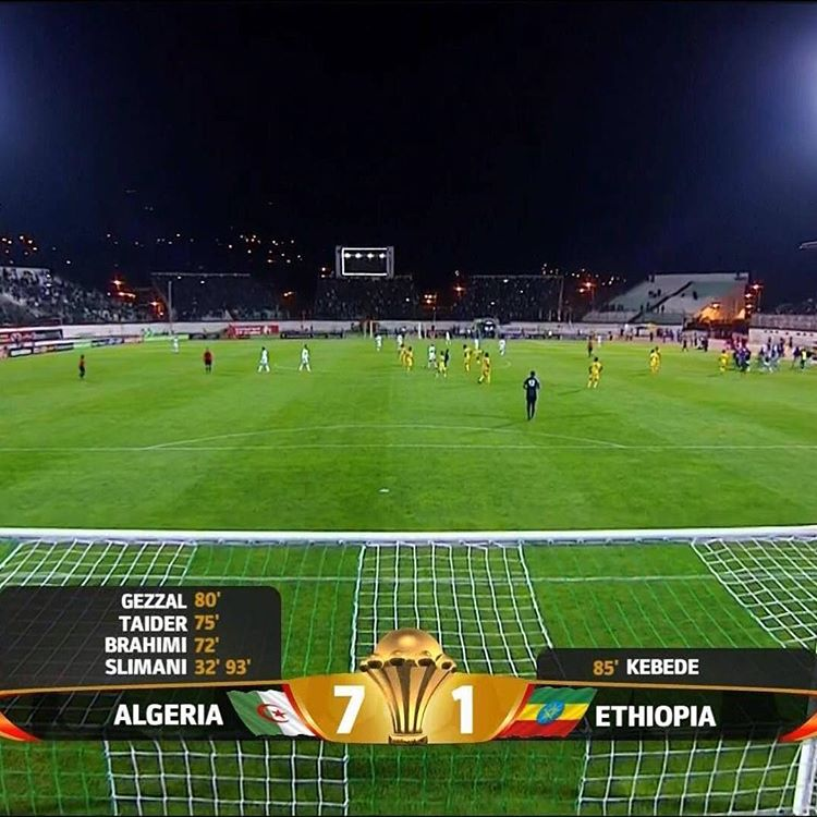 AFCON Qualifiers: Algeria Demolish Ethiopia, Mali Pip Equatorial Guinea
