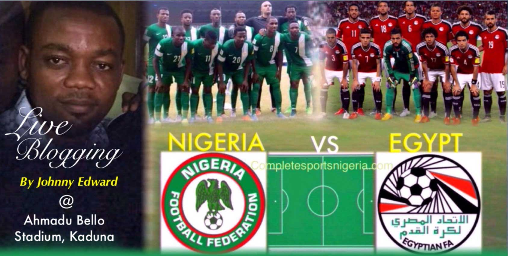 Nigeria vs Egypt: Minute by Minute Live Blogging