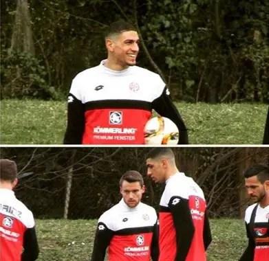 Balogun Happy To Return To Mainz Training