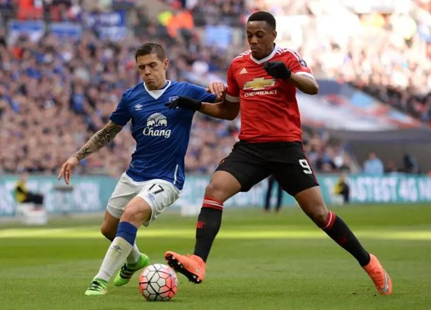 Late Martial Strike Vs Everton Sends United Into FA Cup Final