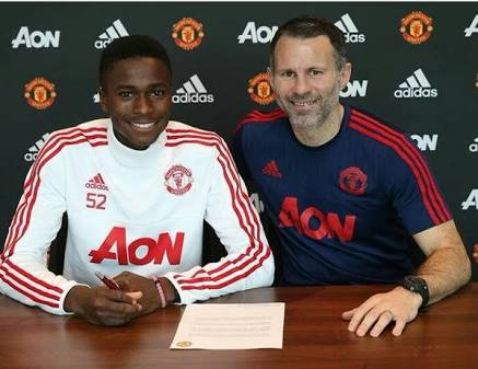 Ex-Man United Star Praises New Signing Olosunde