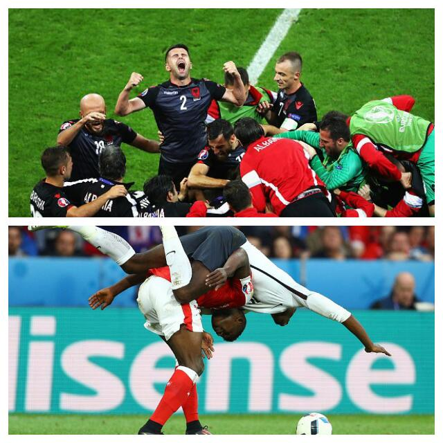 Switzerland Join France In 2nd Round As Albania Make History