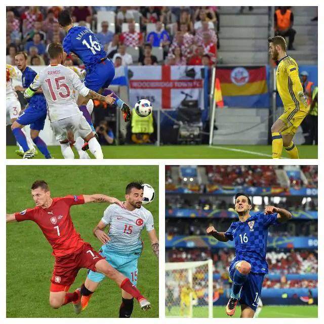 Croatia Stun Spain To Top Group C, Turkey Beat Czech