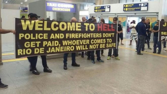 WELCOME TO HELL! Aggrieved Brazilian Police, Firefighters Declare Rio 2016 Unsafe