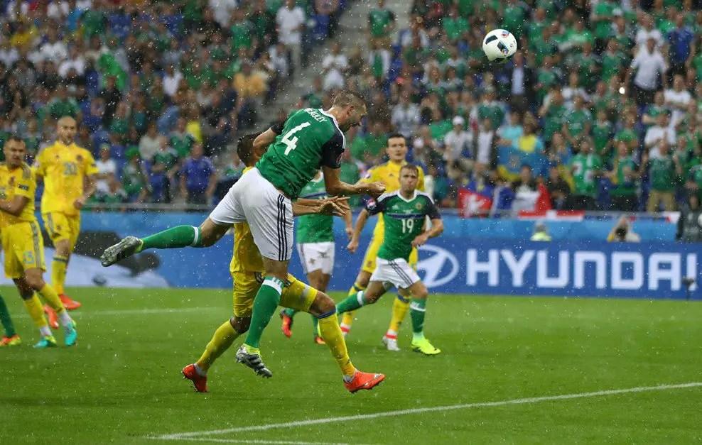 McAuley Strikes Historic Goal As Northern Ireland Beat Ukraine