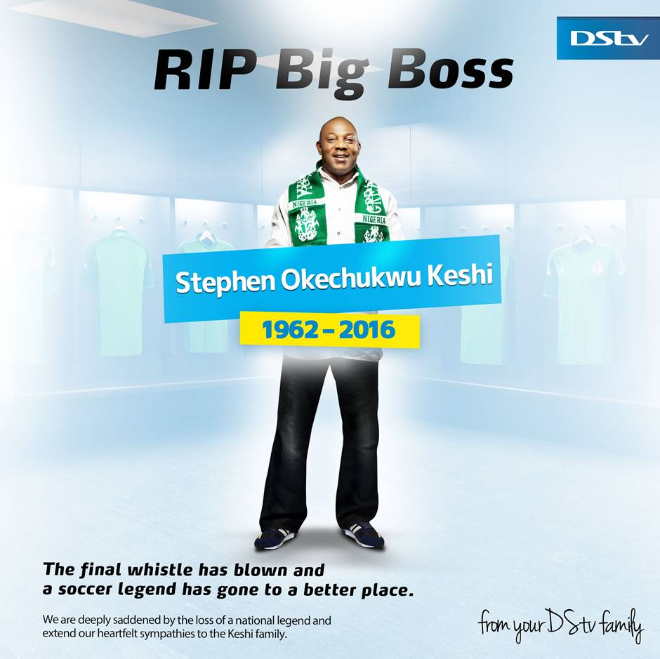 MultiChoice Celebrates Stephen Keshi With Special Re-broadcast Of AFCON 2013 Final