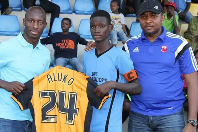 Sone Aluko, C.O.D United Set For Ambassadors Cup