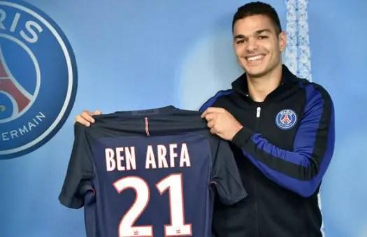 PSG Sign Ben Arfa From Nice