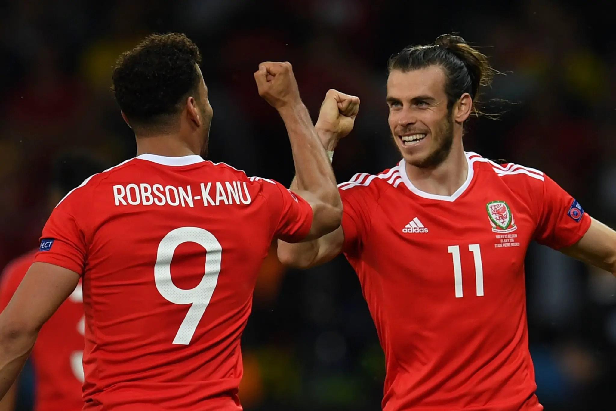 Robson-Kanu Scores Stunner As Wales Dump Belgium