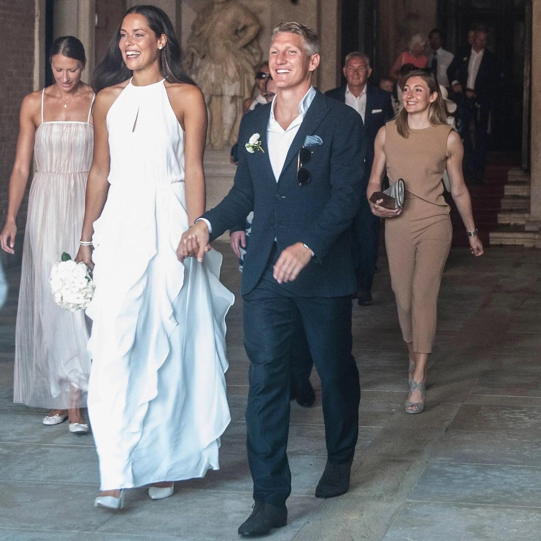 Schweinsteiger Marries Tennis Star Ivanovic