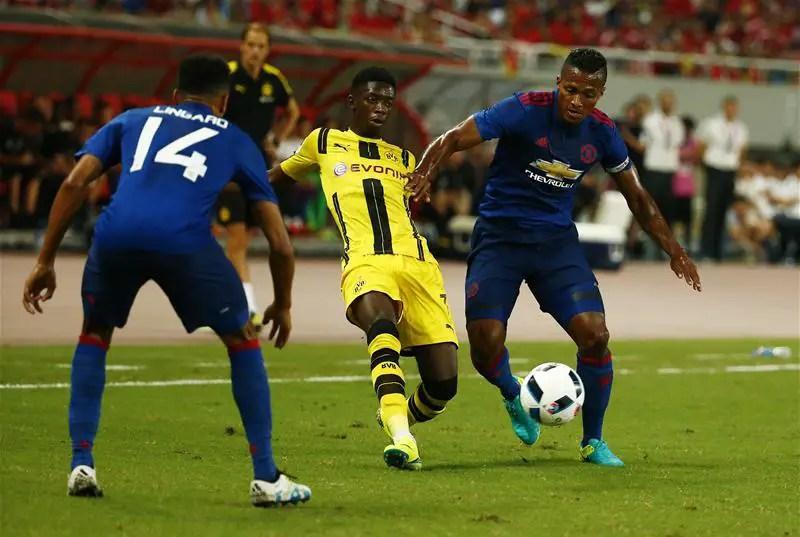 Dortmund Thrash Man United In Pre-Season Friendly