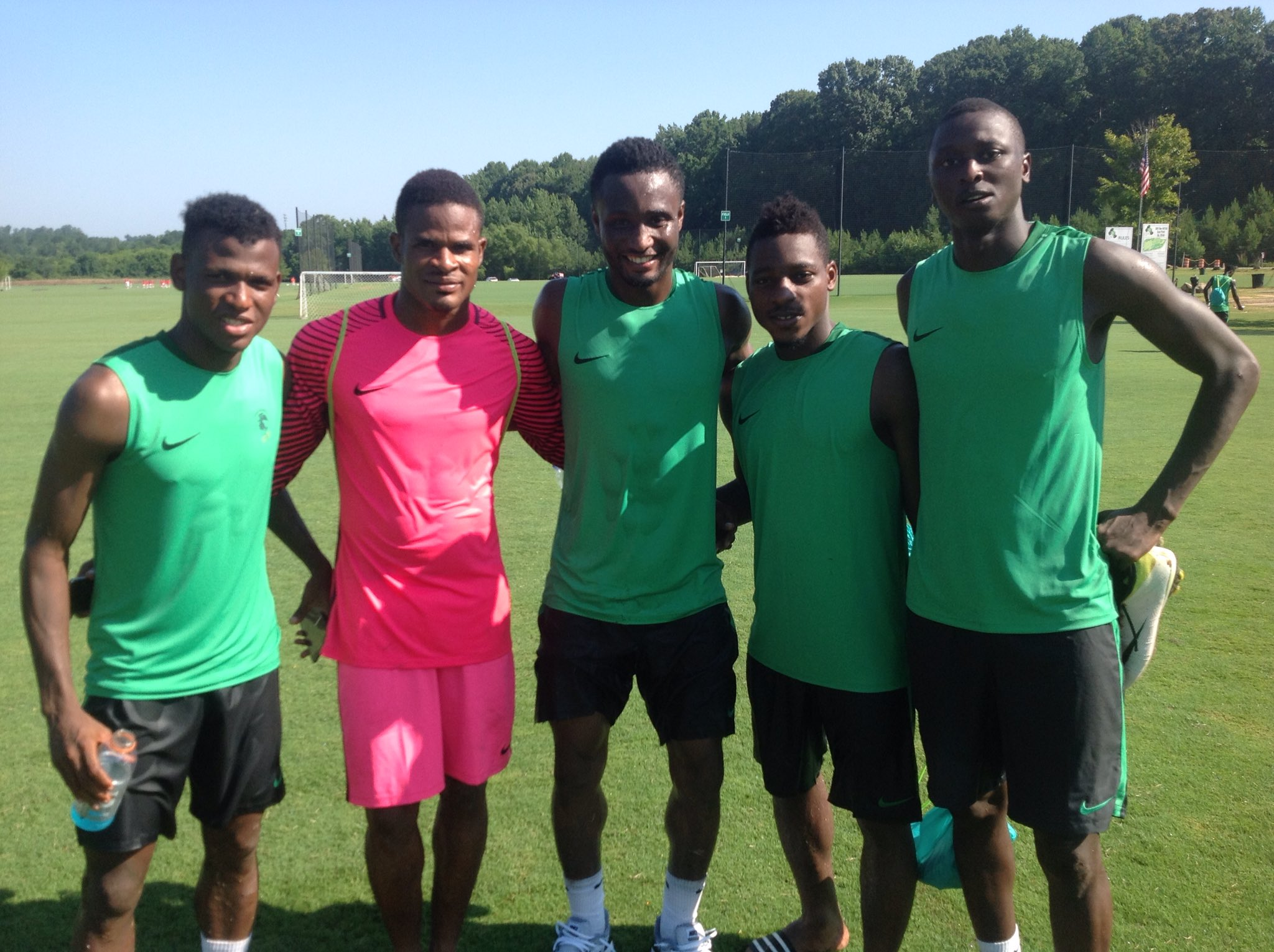 I'M NOT FATHER XMAS: Mikel Denies Donating $30k To Olympic Squad