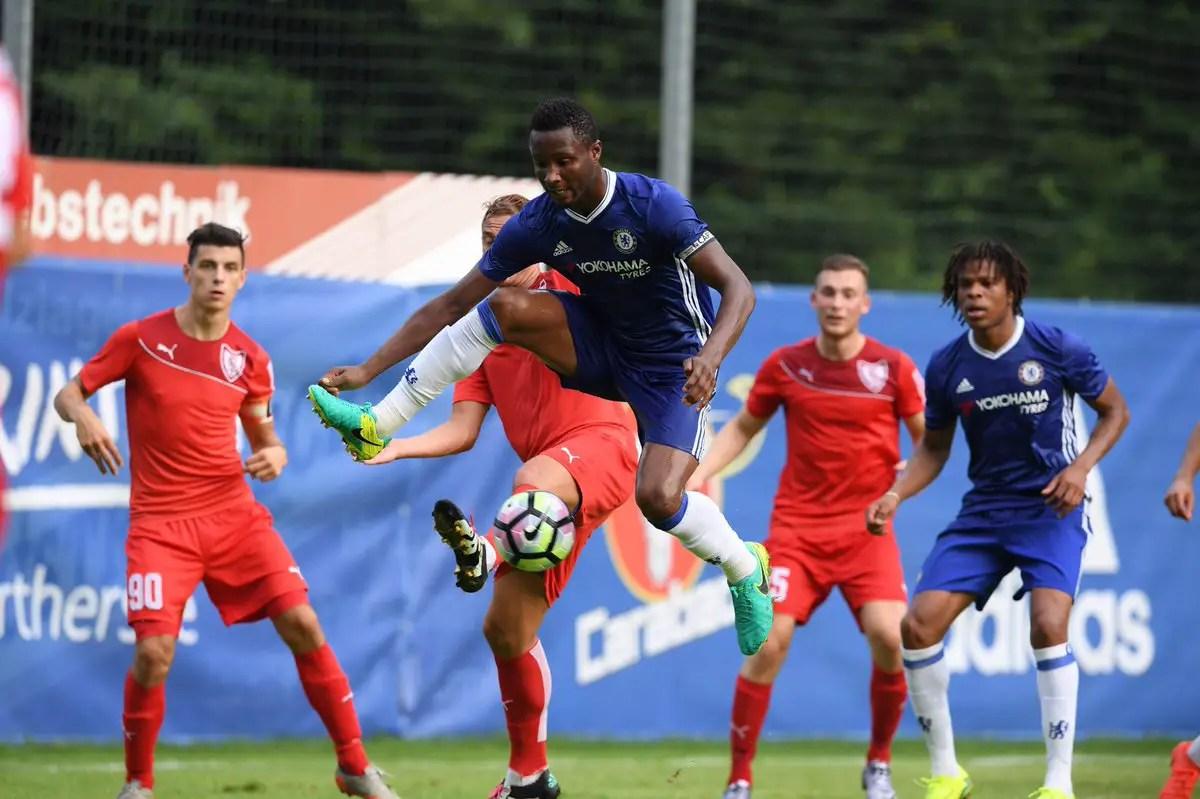 Mikel, Batshuayi Score As Chelsea Spank Austrian Side