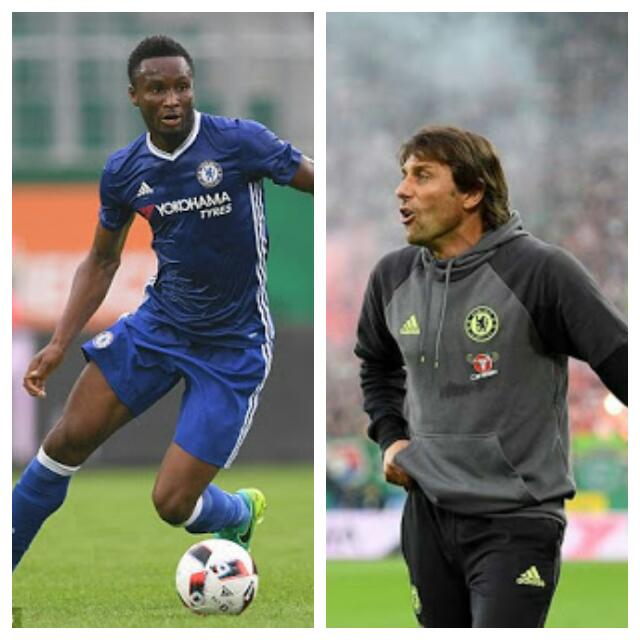 """Conte """"Orders"""" Risk-Taking Mikel To Win Gold In Rio"""
