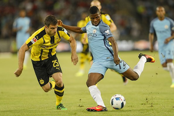 Iheanacho, Stones In City UCL Squad; Nasri, Bony Out