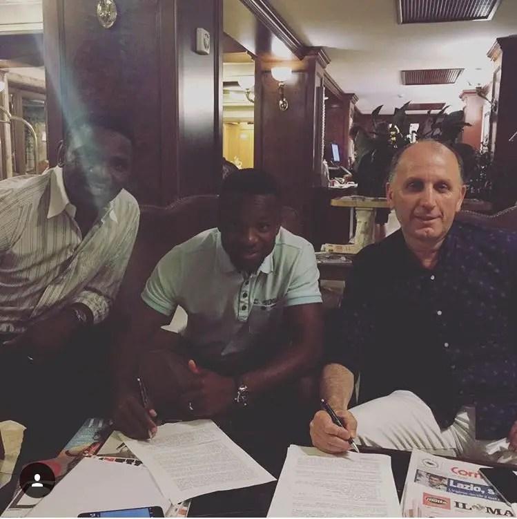 Onazi Seals €5m Trabzonspor Move, Thanks Lazio Fans