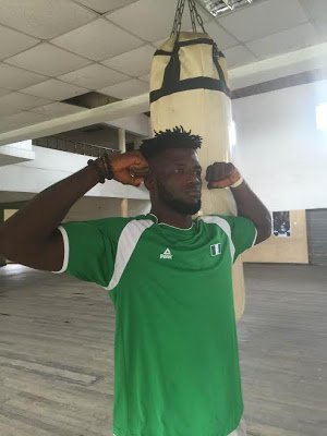 Nigeria's Lone Boxer Ajagba Fights Trinidad's Nigel Today