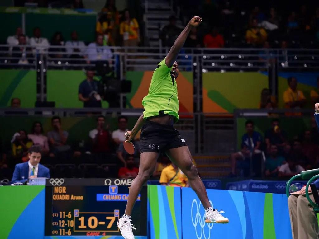 Table Tennis: Quadri Cruises Into Historic Q/Finals, To Meet World No.1