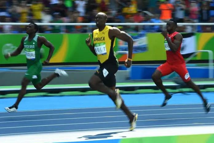 Nigeria's Oduduru Draws Bolt Again In 200m Semis!