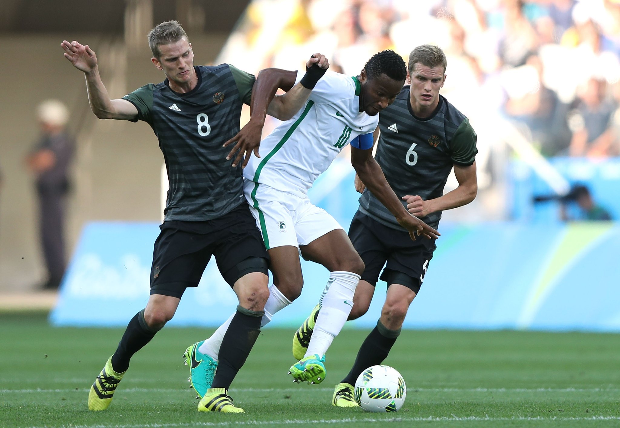 """Mikel Blames """"Luck"""" For Olympic Eagles Loss To Germany, Targets Bronze"""