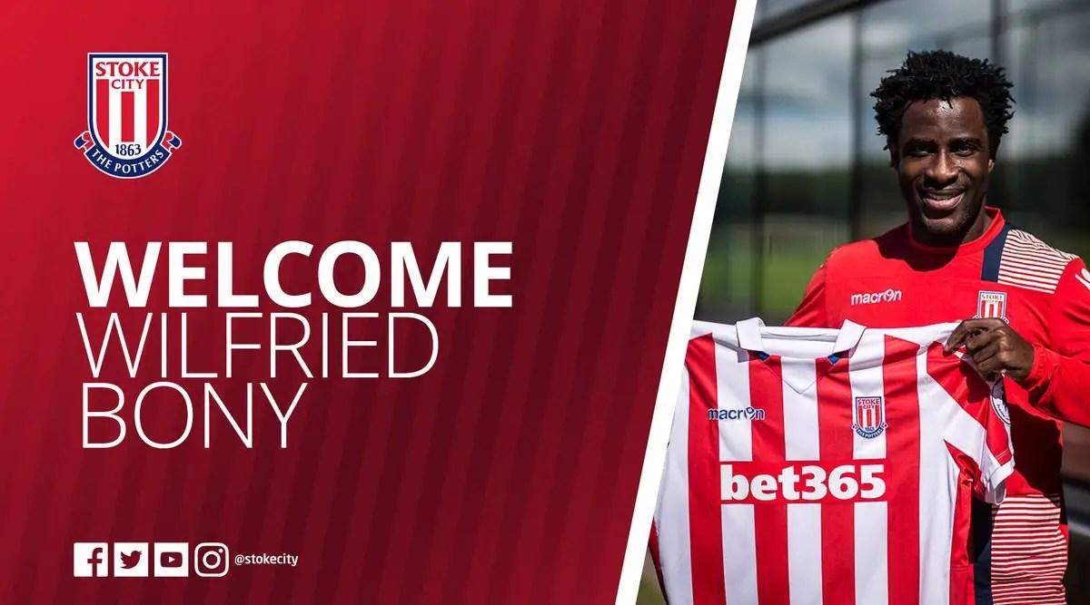 Bony Joins Stoke City On Loan