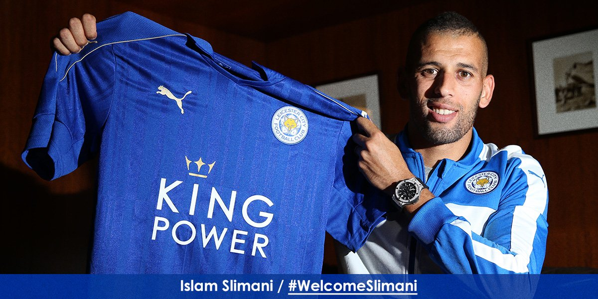 Slimani Joins Musa At Leicester For £29m
